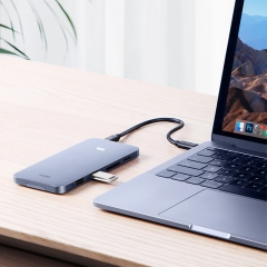 USB-C Hub with M.2 Hard Drive Enclosure